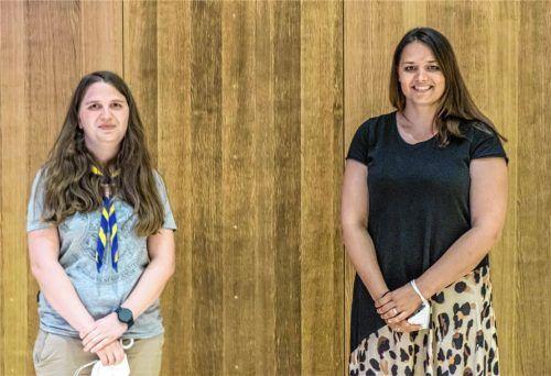 Mit Svetlana Teterja-Pater und Maria Memminger (rechts) wählte die Vollversammlung des Kreisjugendringes Traunstein zwei neue Beisitzerinnen in den Vorstand. Foto Flug