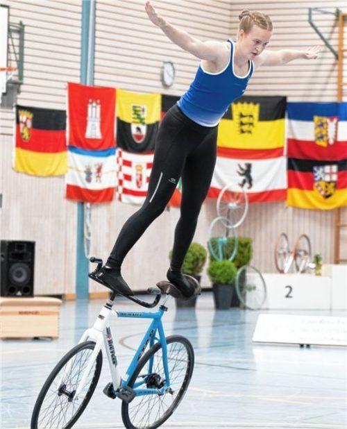 Susanne Schreuer verbesserte sich um einen Platz. Foto Dandl
