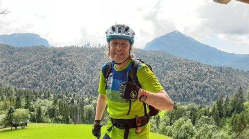 Tom Böhnlein vertritt die organisierte Mountainbike-Szene im Chiemgau und wünscht sich ausgewiesene Wurzelpfade, die Mountainbiker und Wanderer gemeinsam nutzen können. Foto Privat
