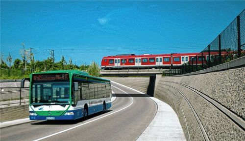 Auf den Anschluss kommt es an: Viele Regionalbuslinien sind auf die S-Bahnen abgestimmt.Foto  MVV München