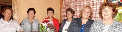 Das Führungsteam der Frauengemeinschaft Waldhausen für die nächsten fünf Jahre: (von links) Marianne Schmid, Luitgard Mühlegger, Rosina Zieglgänsberger, Helga Reininger, Monika Schillmaier und Elisabeth Schmid. Foto Unterforsthuber