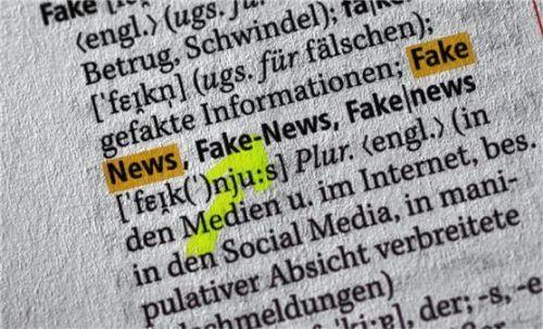 """Das Thema """"Fake-News"""" wird ebenfalls beim Lehrermedientag behandelt. Foto dpa"""