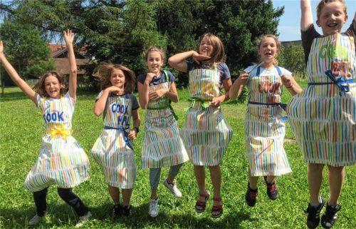 """Der """"Cook Mal""""-Kinder-Koch-Club findet als eines der Freizeitangebote jeden Donnerstag in der offenen Ganztagsschule am Gymnasium Bruckmühl statt. Auf dem Programm stehen außerdem Sport, Spiel, Kreativangebote und natürlich Hausaufgabenhilfe. Foto  Buxot"""