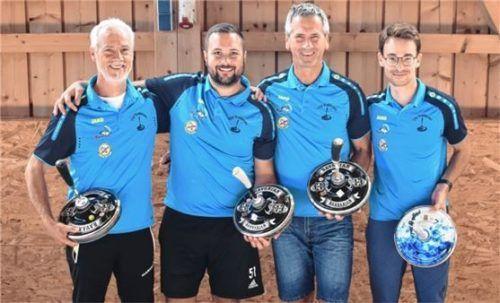 Der TSV Breitbrunn sicherte sich den Pokalsieg.Foto re