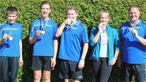 Der TSV Taufkirchen holte sieben Medaillen.Foto Marianne Fill