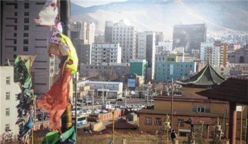 Ein Bild aus der mongolischen Hauptstadt, von der Brikmann viele Inspirationen nimmt.Foto Rath