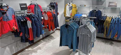 Ganz neu bei Adlmaier: die Active Wear Abteilung im 2. Stock mit vielen namhaften Marken.