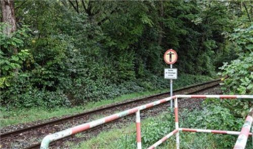 Gibt es eine alternative Verwendung für das Werksgleis? Auch dieser Frage will der Verkehrsentwicklungsplan nachgehen.Foto  Lohmann