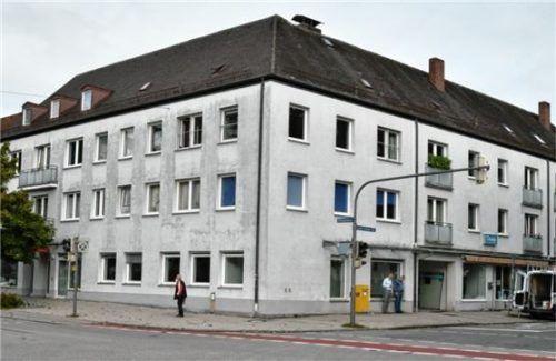 In den ehemaligen Räumen der Sparkasse an der Wittelsbacherstraße befinden sich ab November die Pflegestützpunkte von Stadt und Landkreis. Foto Schlecker