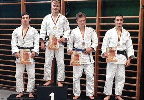 Patrick Weisser stand bei der süddeutschen U21-Meisterschaft ganz oben.Foto re