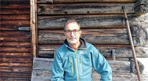 Revierförster Felix Wölfl ist für den Wald um dasNaturschutzgebiet verantwortlich.
