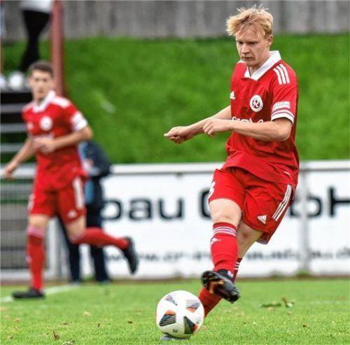 Sam Zander ist einer von sechs Spielern, die 1860 Rosenheim wieder zur Verfügung stehen.Foto Hans-Jürgen Ziegler