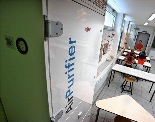 Um Klassenzimmer mit raumlufttechnischen Anlagen auszustatten, könnte der Schulverband Haag für die Grund- und die Mittelschule rund eine Million Euro Fördergelder bekommen.Foto dpa