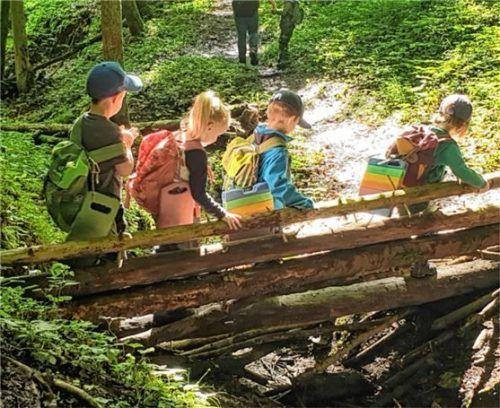 Waldkindergärten bieten die Möglichkeit, auf die individuellen Bedürfnisse der Kinder einzugehen. Foto RE